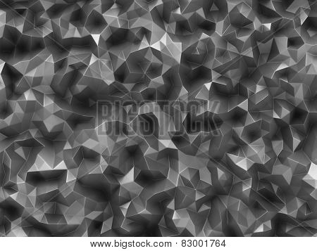 Abstract Graphic Green Low Poly Background Texture