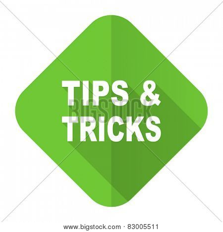 tips tricks flat icon