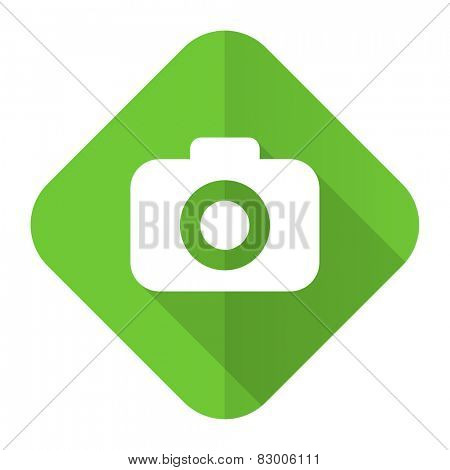 photo camera flat icon photography sign