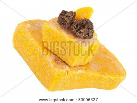Propolis and beeswax