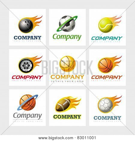 Vector logo design elements
