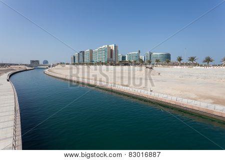 Al Muneera Canal In Abu Dhabi