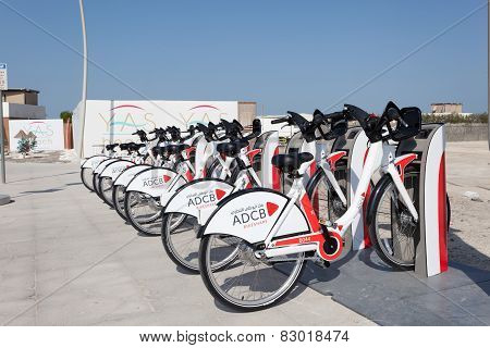 Abu Dhabi Bikeshare Bicycles