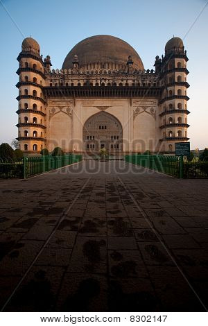 Golgumbaz South Facade Entrance