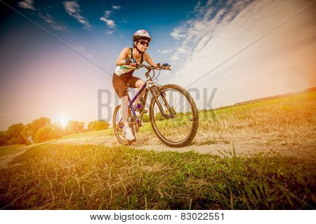 Women on the nature of riding a bike