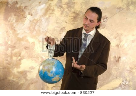 Worldwide Businessman