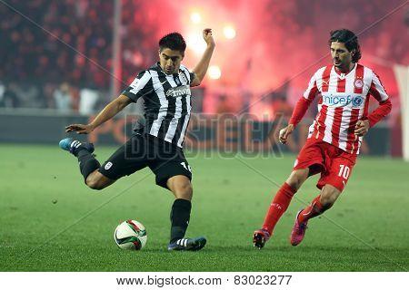 Paok Vs Olympiacos Greek Superleague