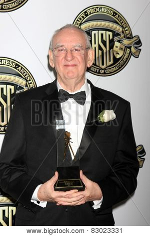 LOS ANGELES - FEB 15:  Phil Meheux at the 2015 American Society of Cinematographers Awards at a Century Plaza Hotel on February 15, 2015 in Century City, CA