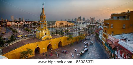 Evening In Cartagena