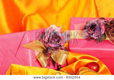 Pink Christmas Presents