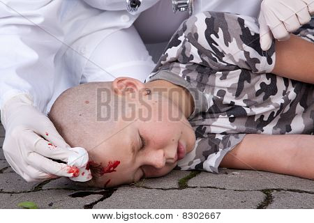Boy In Coma