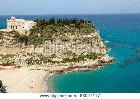 Tropea a small beautiful city in Calabria