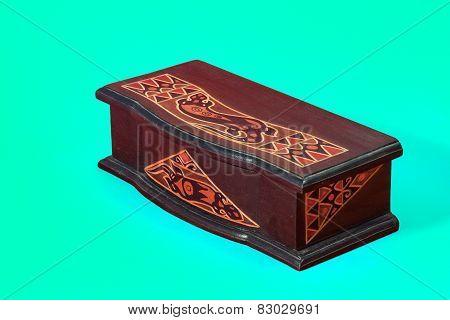 Cyan Box Vintage