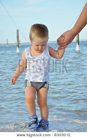 Baby On The Lake