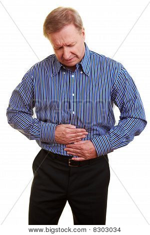 Man With Bellyache