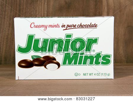 Box Of Junior Mints