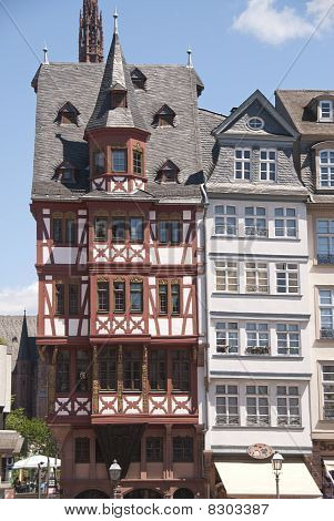 Traditional house in Frankfurt, Germany