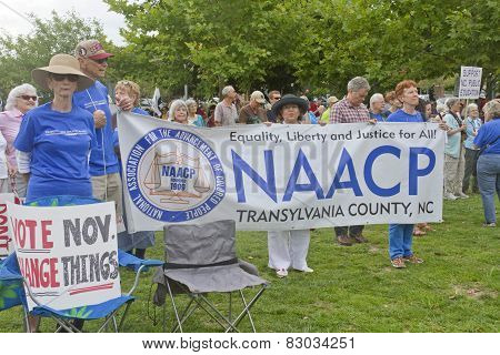 Naacp And Other Moral Monday Signs