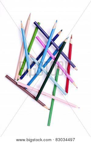 Multi Colored Pencils.