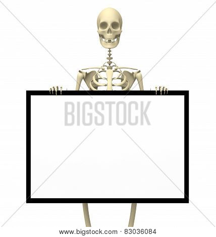 Skeleton Sign One