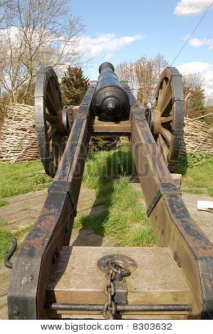 Civil War Cannon Gun