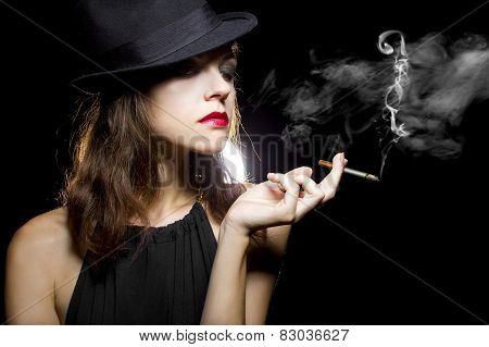 Female Smoker