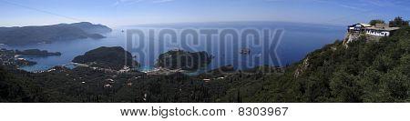 Corfu Panoramic View
