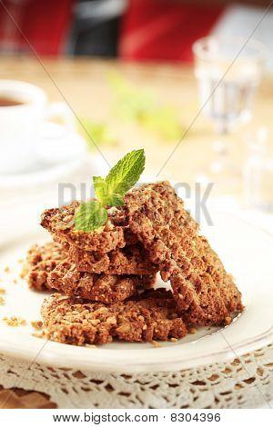 Wholegrain Nutty Cookies