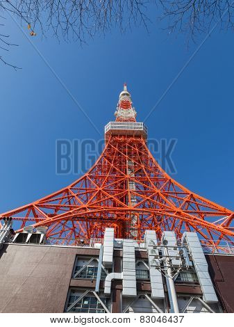 Red Tokyo Tower