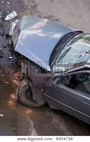 Car After Traffic Accident