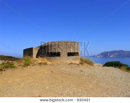 WWII Anti-Tank Bunker