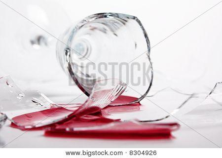 Broken Wineglass