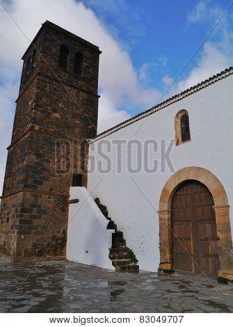 The church of La Oliva on Fuerteventura