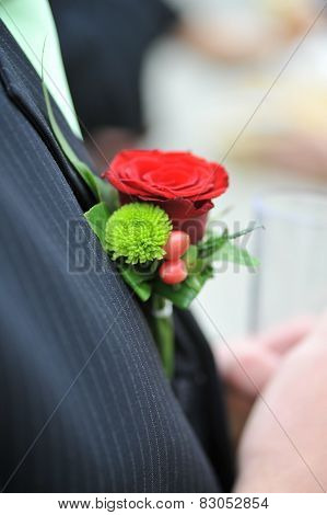 Groom Flower