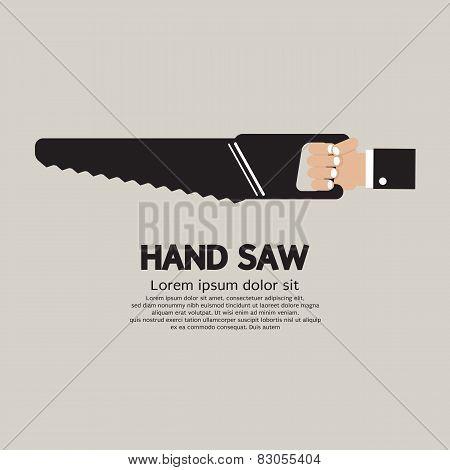 Hand Saw.