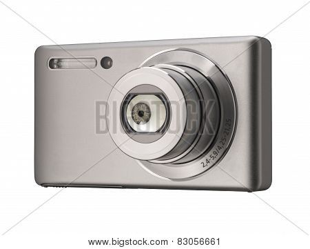 Compact camera with false eye