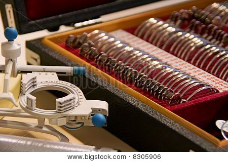 Eye Doctor's Instruments