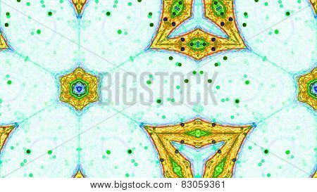 Fractal Kaleidoscopic Pattern
