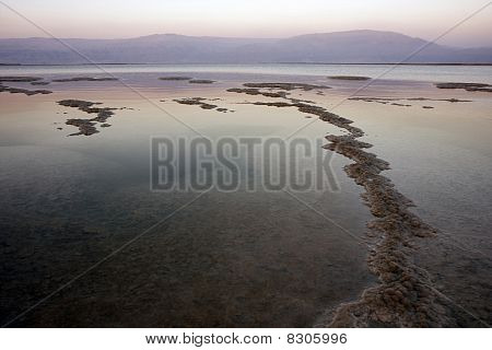 Dead Sea At Sunset