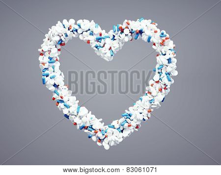 Pharmaceutical Heart Icon