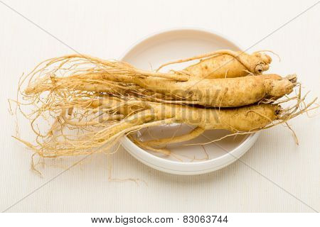 Korean cuisine ginseng