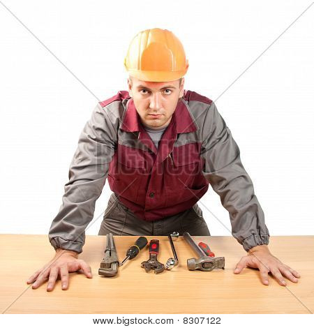 Working Man With Tools
