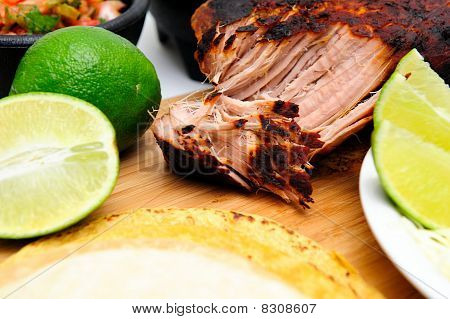 Cooked Pork Carnitas