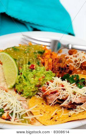 Carnitas Taco Meal