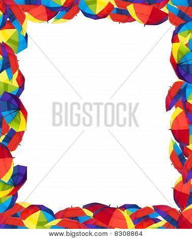 Colorful Umbralla Border