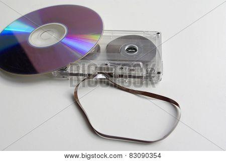 Audio Cassete And Cd