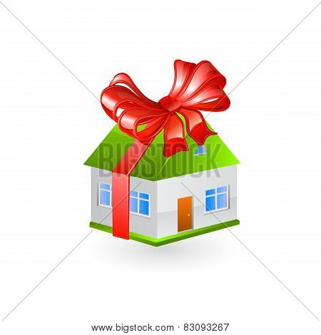 House gift. Vector