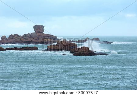 Tregastel Coast View (brittany, France)