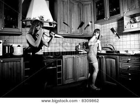 Küche stress
