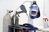 picture of welding  - The image of welding equipment - JPG